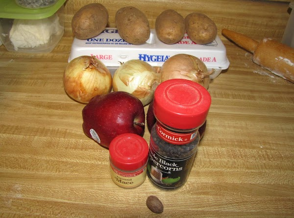 Gather ingredients.Preheat the oven to 375 degrees.