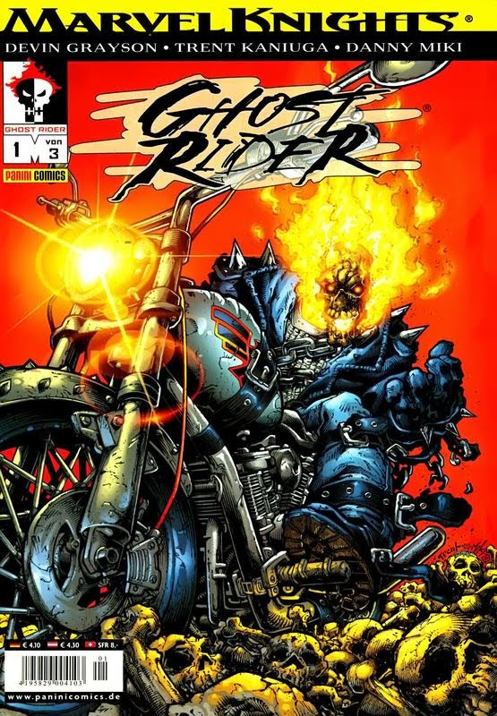 Marvel Knights: Ghost Rider (2002) - komplett