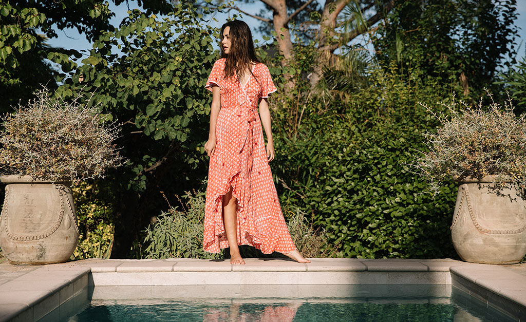 Poupette St Barth Long Dress Bohemian