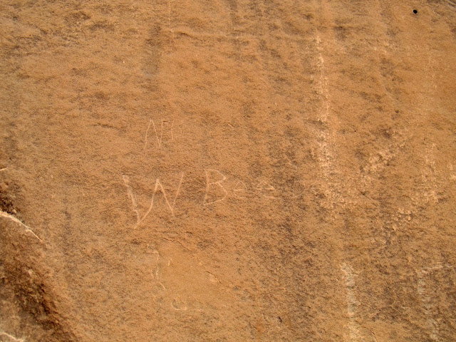 Undated Warren Beebe inscription