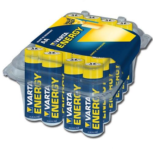 Alkaliska Batterier AA 24 Stycken