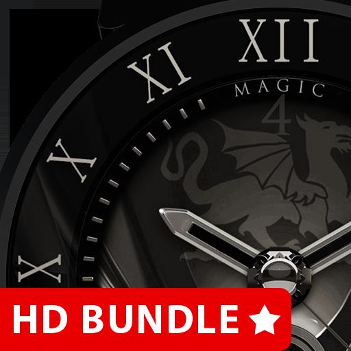 HD Analog Clock Bundle LWP 7