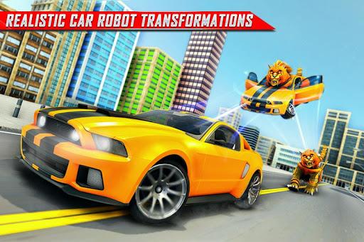 Lion Robot Car Transforming Games: Robot Shooting 1.4 screenshots 2