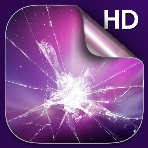 الشاشة المكسورة خلفيات حية التطبيقات على Google Play