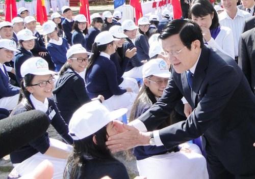 Chủ tịch nước chúc mừng ngành giáo dục dịp khai giảng