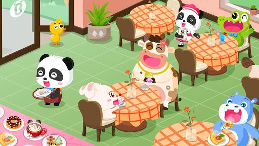 Verão do Bebê Panda: Cafeteria screenshot 3