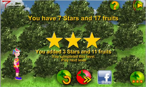 Rainbow Girl Collecting Fruits 1.0.1 screenshots 9