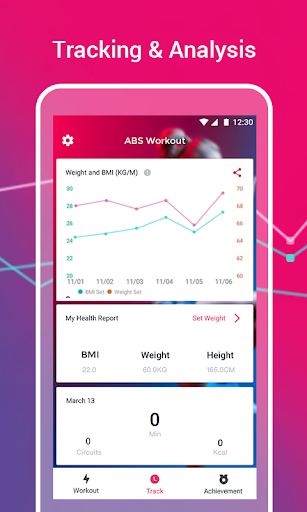 Abs Workout - 28 Days Fitness App for Six Pack Abs 1.2.2 screenshots 4