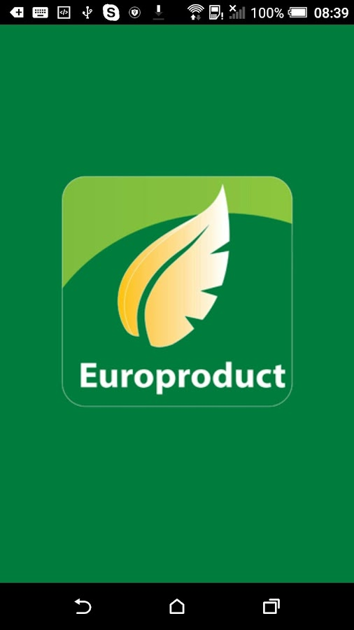 Europroduct- screenshot