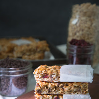 Chewy Honey-Nut & Fruit Granola Bars