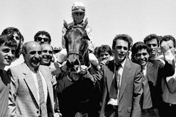 Murió Diego Maradona, un amante de los caballos