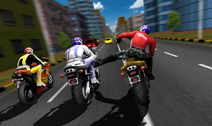 Bike Attack Race : Highway Tricky Stunt Rider APK screenshot thumbnail 10