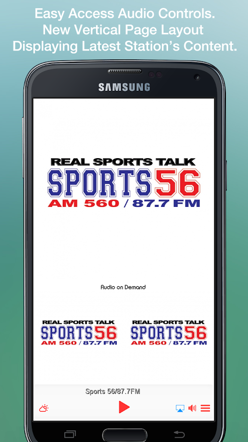Sports 56/87.7FM- screenshot
