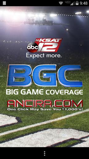 KSAT 12 Big Game Coverage