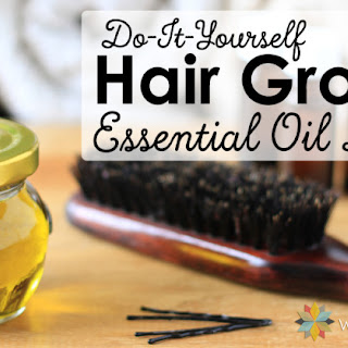 Essential Oils for Hair Growth Blend.
