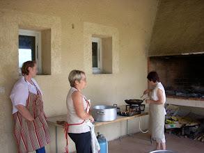Photo: Préparation du repas
