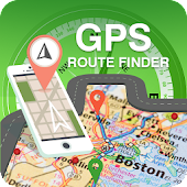 GPS Navigation Route Finder