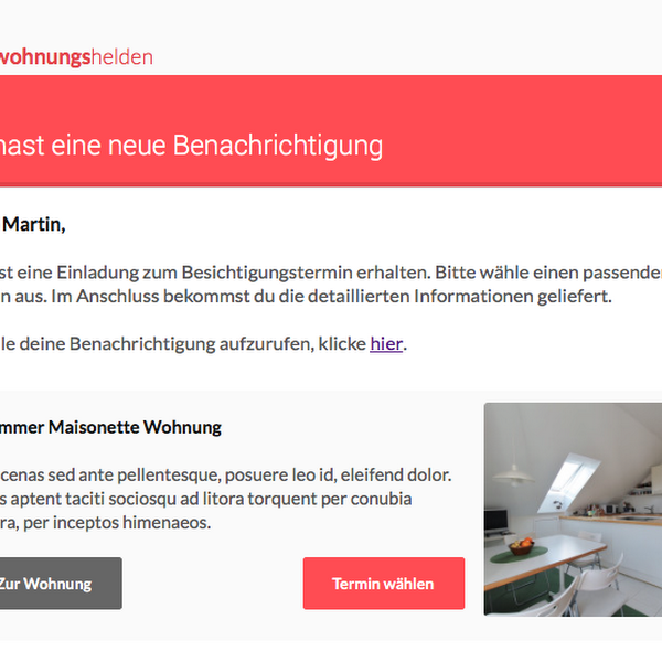 E-Mail im Firmendesign