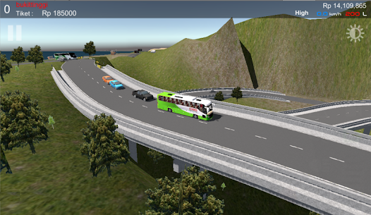 IDBS Simulator Bus Lintas Sumatera 1.4 APK Mod for Android 1