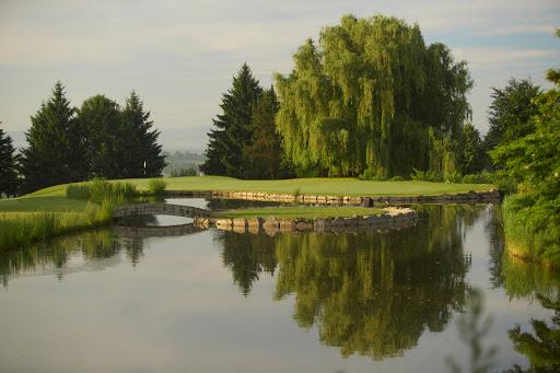 Teich Loch 16