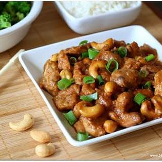 Slow Cooker (Crock-pot) Cashew Chicken