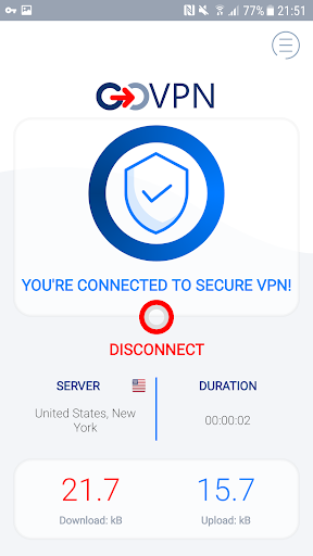 VPN free & secure fast proxy shield by GOVPN 1.5.1 Apk for Android 2