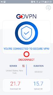VPN free & secure fast proxy shield by GOVPN 1.6.5 APK + Mod (Unlocked) إلى عن على ذكري المظهر