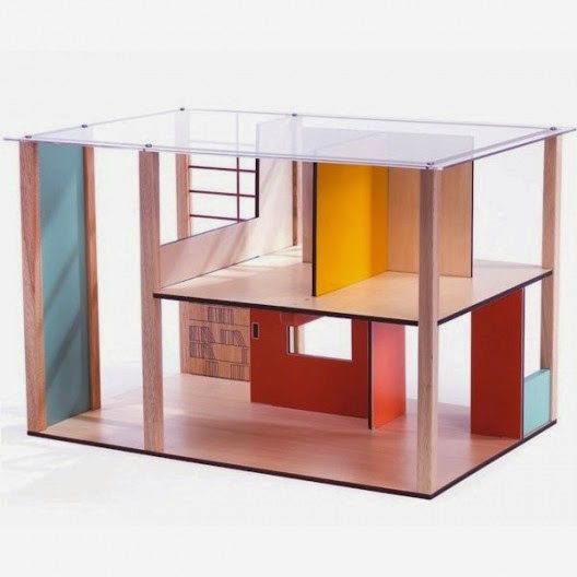 Djeco Cubic Doll House