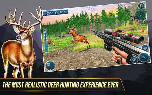 Code Triche Wild Deer Hunting Adventure :Animal Shooting Games mod apk screenshots 1