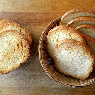 Cauliflower Crust Bread Slices