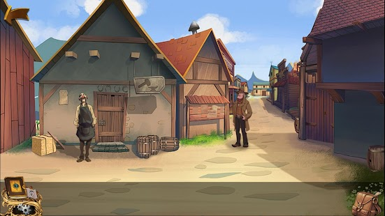 Escape puzzle games:Mystery of New Western Town - náhled