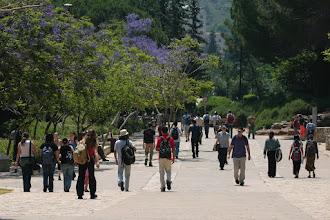 Photo: Technion Students on Campus