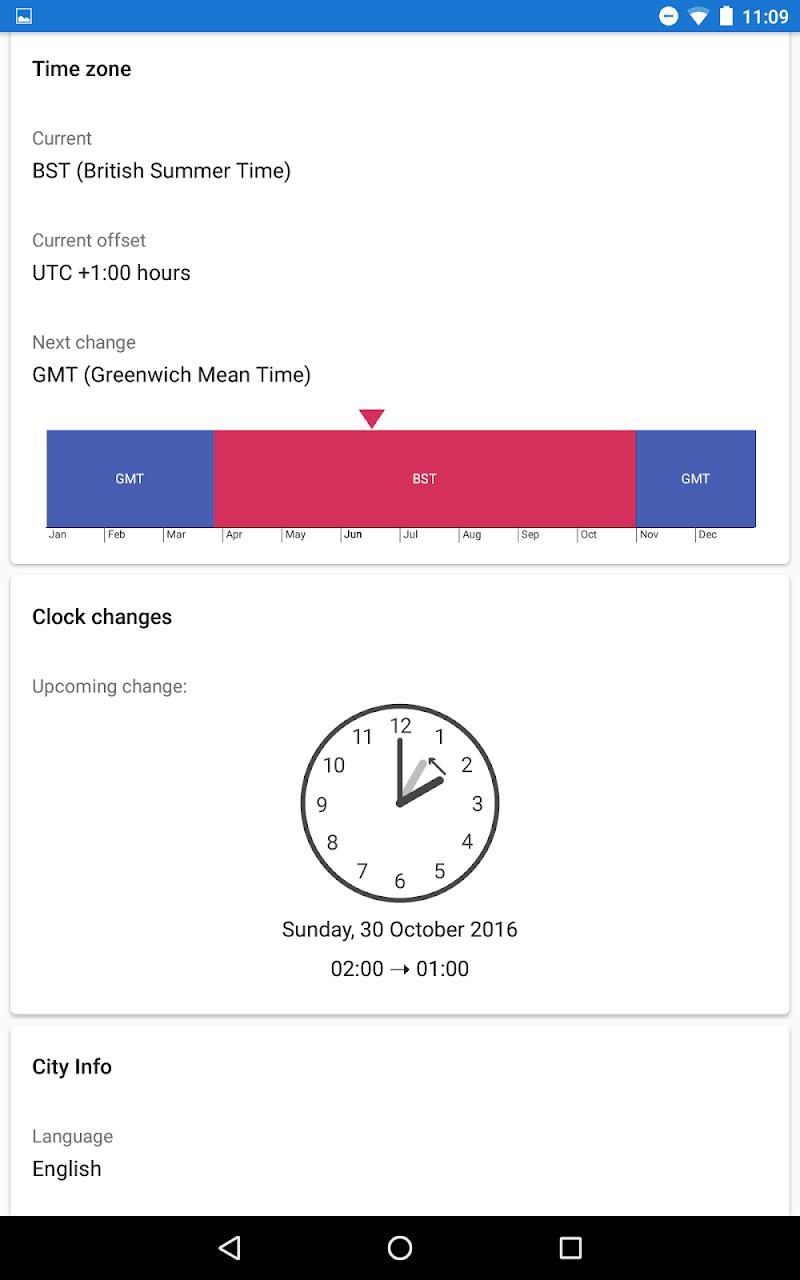 World Clock by timeanddate.com Screenshot 19