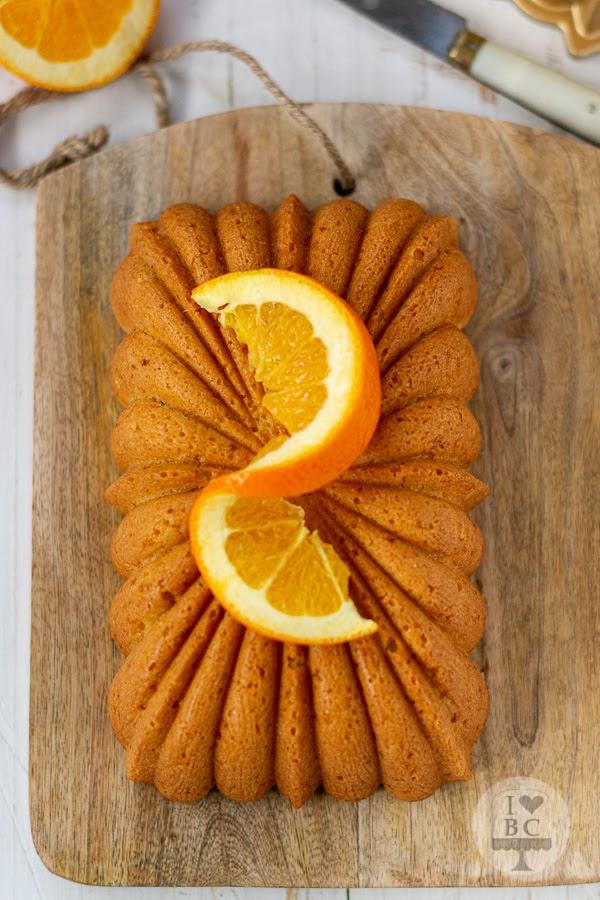 Loaf Cake de naranja y almendra
