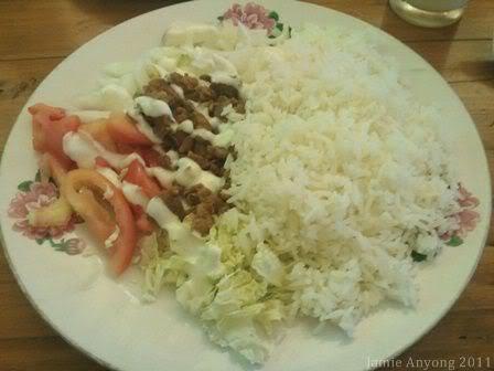 chicken shawarma rice