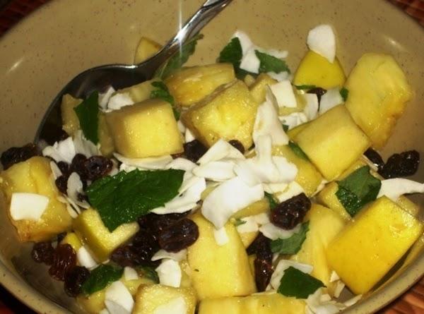 Fresh Pineapple Salad Recipe
