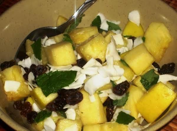 Fresh Pineapple Salad
