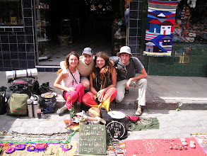 Photo: Quelques vendeuses locales