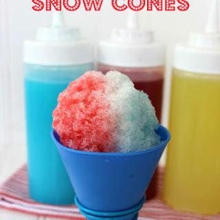 Homemade Snow Cones
