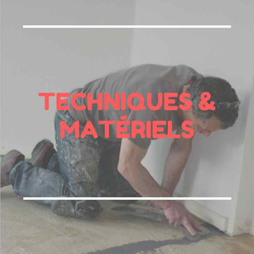 technique et matériels réaliser béton ciré au sol