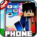 Working Phone Mod For MCPE & New Furniture Mod icon
