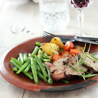 Grilled Pork Fillet with Herbs