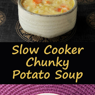Slow Cooker Chunky Potato Leek Soup