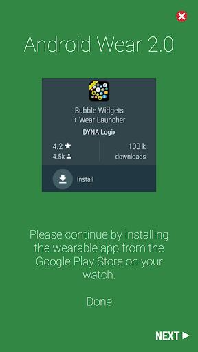 Bubble Cloud Wear Launcher Watchface (Wear OS) 9.39 screenshots 17