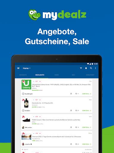 mydealz u2013 Gutscheine, Schnu00e4ppchen, Angebote, Sale 5.26.11 screenshots 12