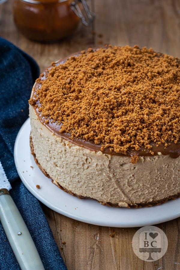 Cheesecake de galletas Lotus sin horno