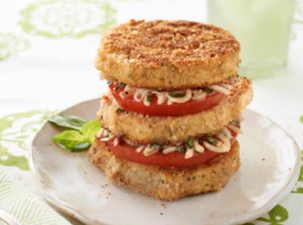 Tomato & Eggplant Napoleons Recipe