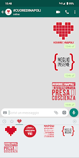 Download Stickers #CUOREDINAPOLI For PC Windows and Mac apk screenshot 2