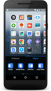 iLauncher OS10 - Theme Phone7 screenshot 3
