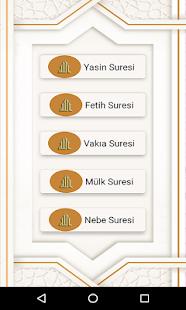 Download Yasin Mülk Fetih Vakıa Nebe Sesli İnternetsiz For PC Windows and Mac apk screenshot 2